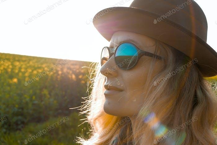 Sonnenschein Hut