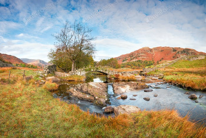 Slater's Bridge in the Lake District