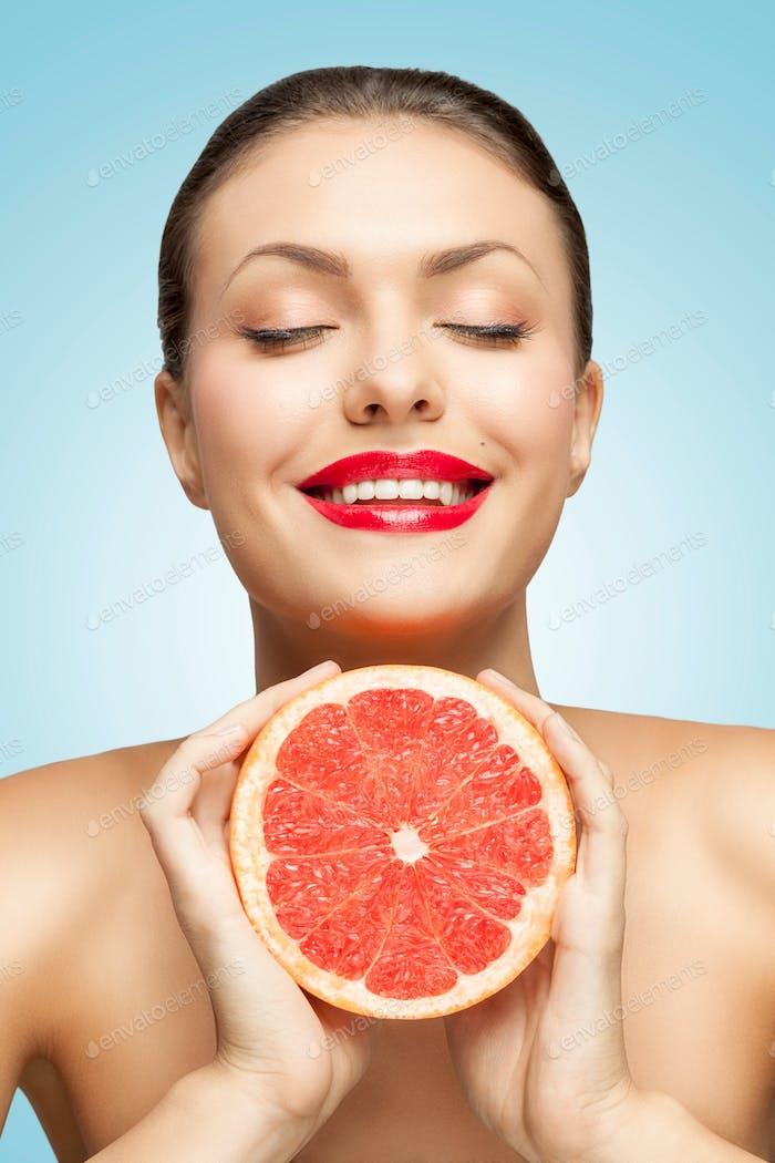 Grapefruitpresse.