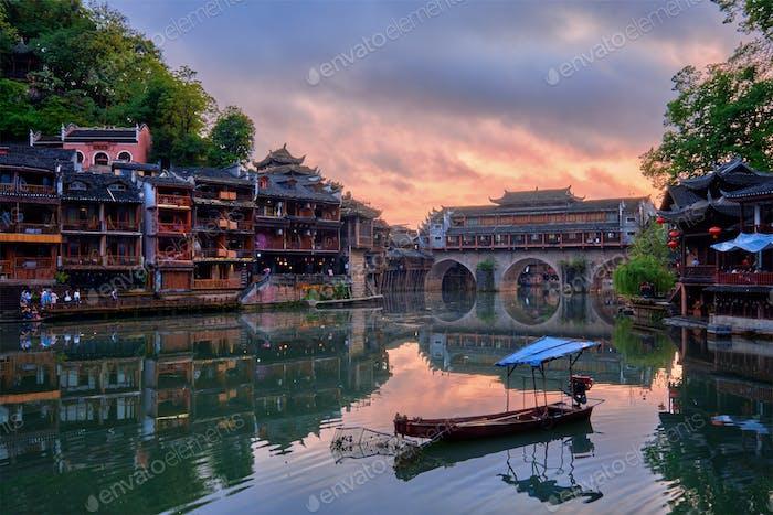 Feng Huang Ancient Town Phoenix Ancient Town , China