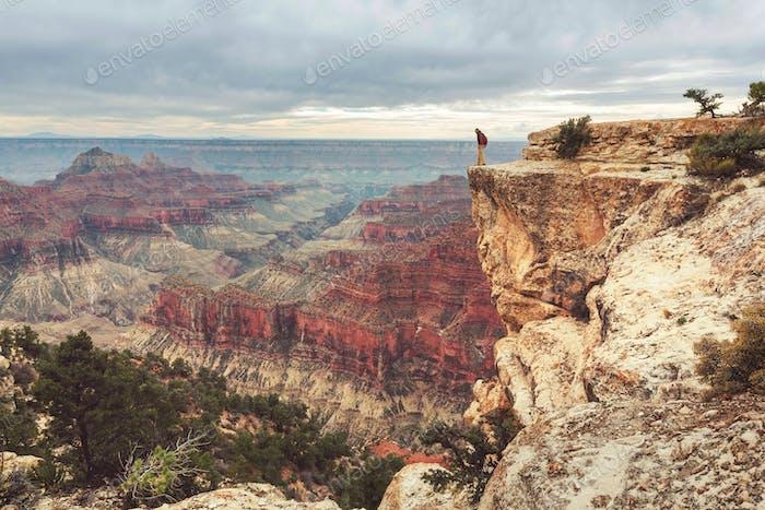 Caminata en el Gran Cañón