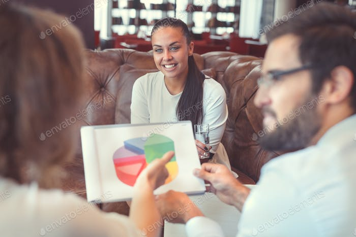 People at meeting in coworking
