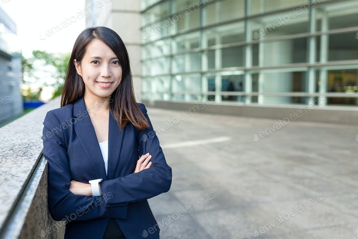 Business woman in Nagoya city
