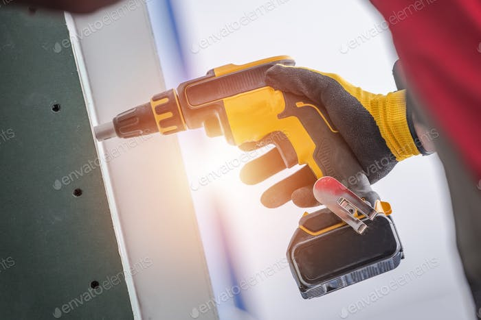 Drill Driver Residential Job