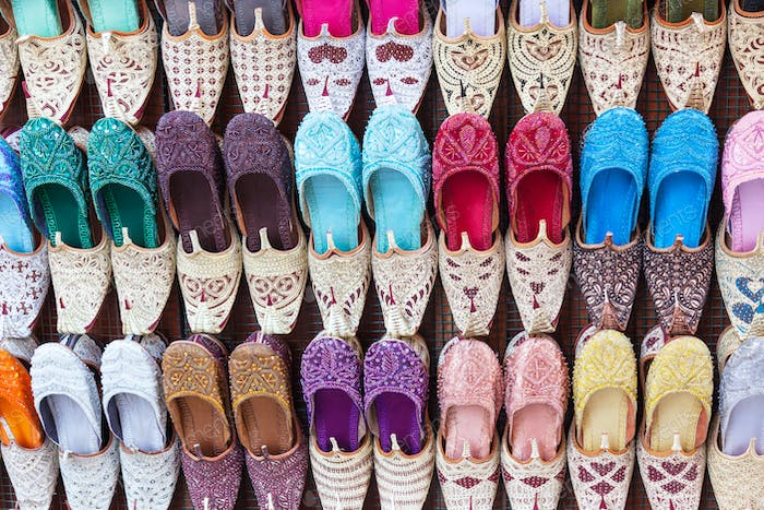 Traditional Arabian Shoes