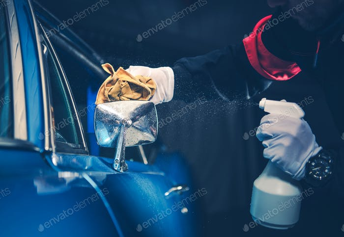 Classic Car Detaillierung Reinigung