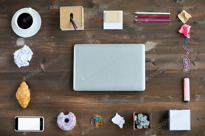 Workplace Of Creative Designer