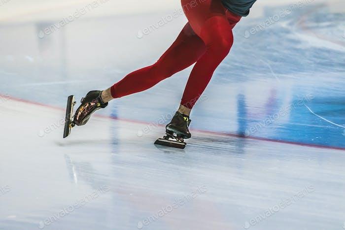 closeup feet girl skater