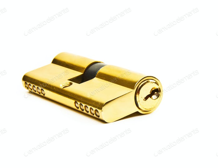 Lock  isolated