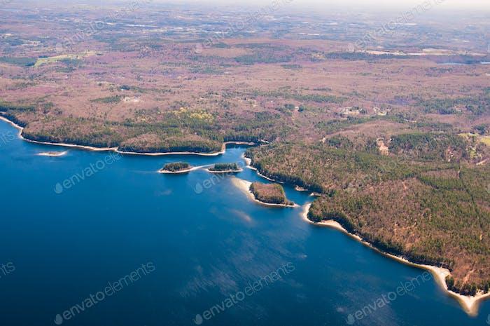 Wachusett Reservoir Antenne