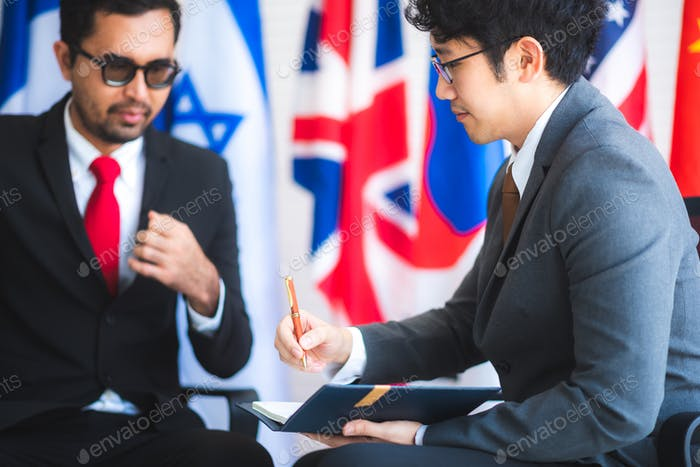 business signing approve successful concept, business man signing contract making