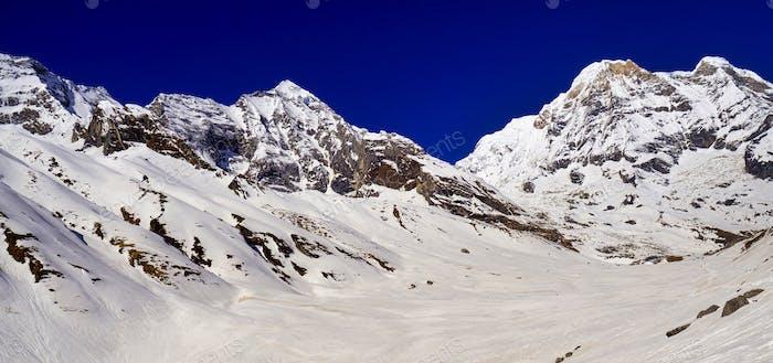 Annapurna Süd, Annapurna Naturschutzgebiet, Himalaya, Nepal