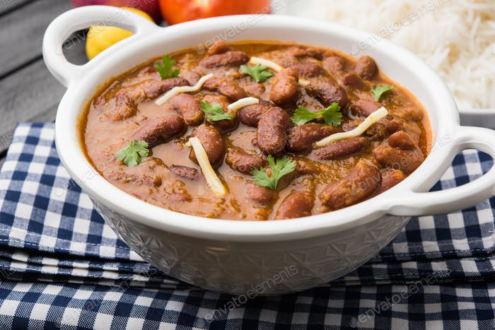 Rajma / Razma / Kidney Bean Curry