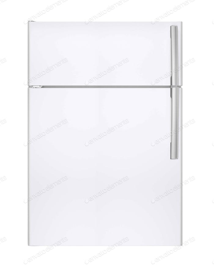 refrigerator on isolated background