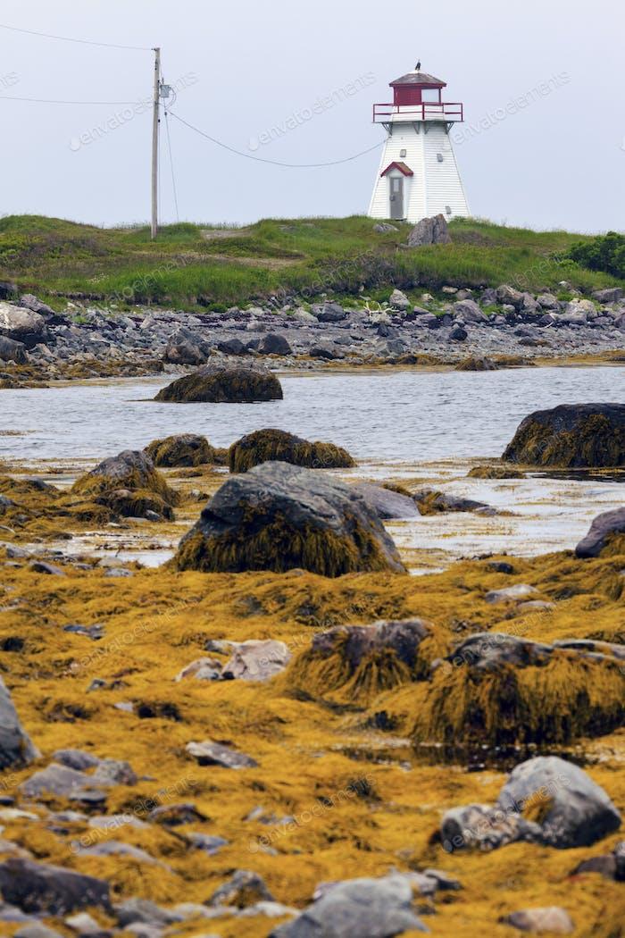 Marache Point Lighthouse in Nova Scotia