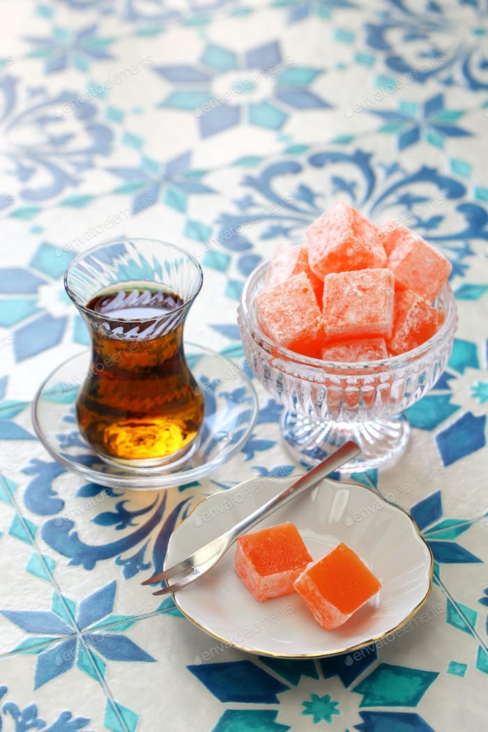 homemade turkish delight lokum