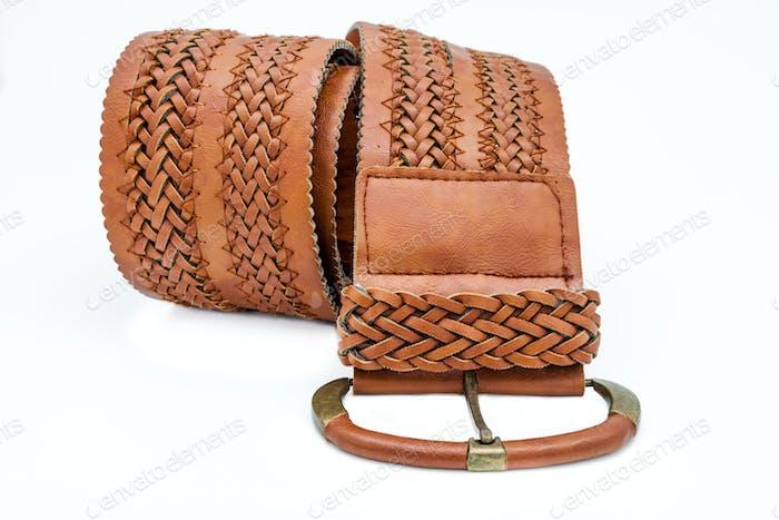 Leather women belts