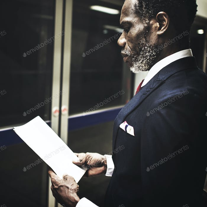 Businessman Enterprise Opportunity Manager Concept