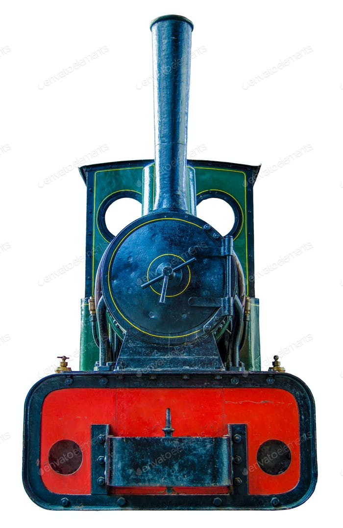 Small Vintage Steam Engine