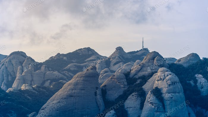 Mountain Scenery Montserrat Spain