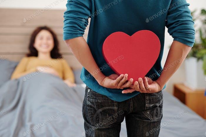 Romantisches Geschenk für Freundin