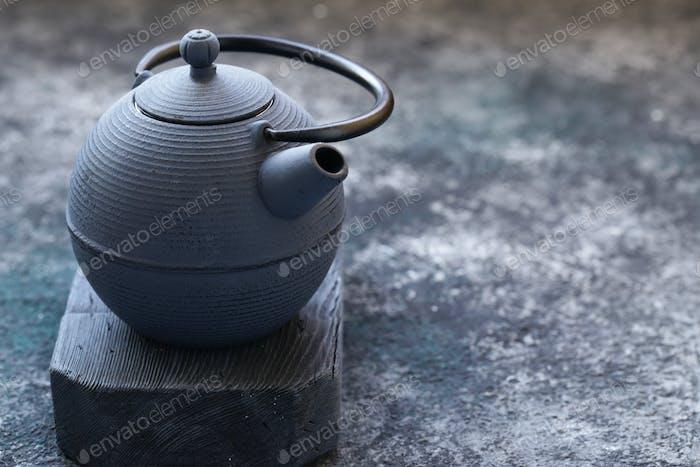 Gusseisen Teekanne