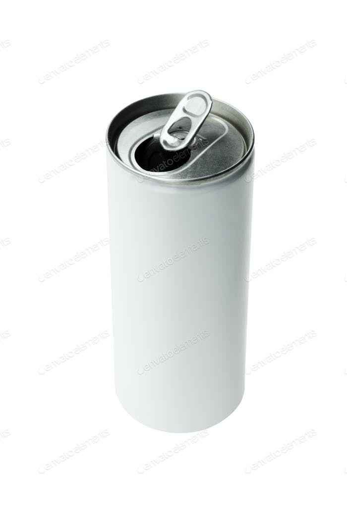 Open Aluminium Drink Can