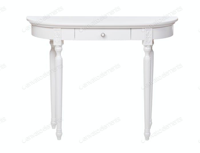 Thumbnail for Elegant dressing table isolated over white
