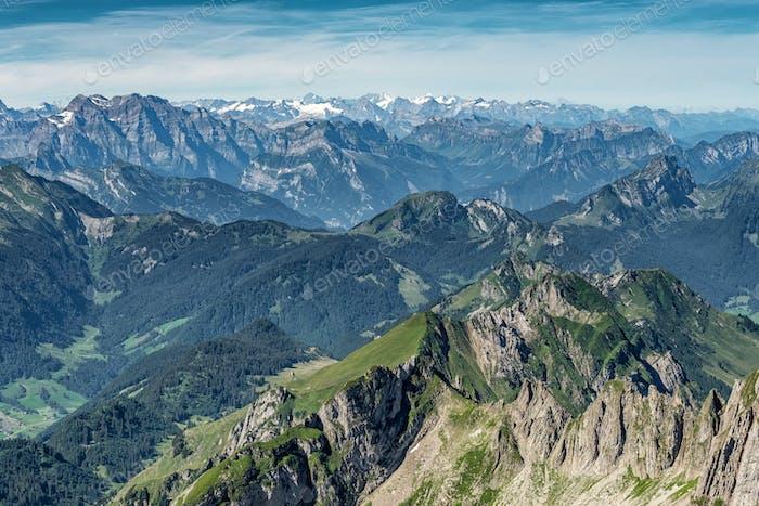 Schweizer Alpen Landschaft