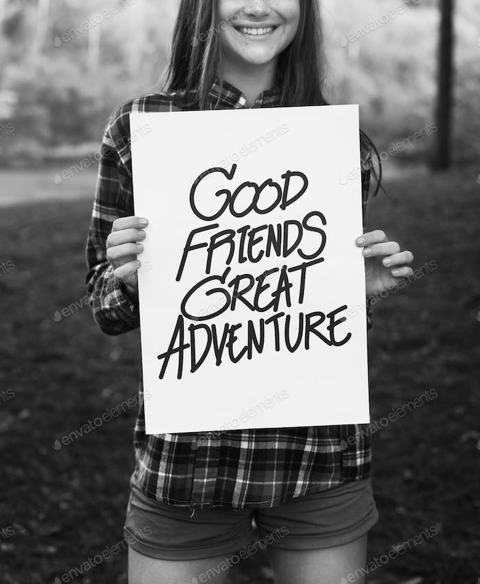 Good Friends Great Adventure Recreation Park Concept