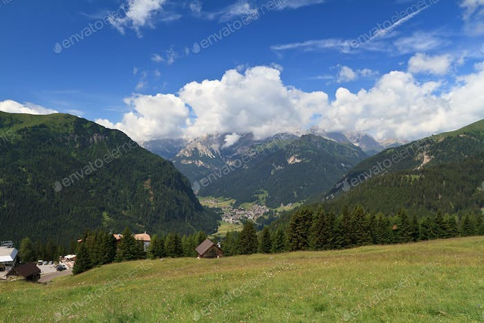Campitello and Fassa valley