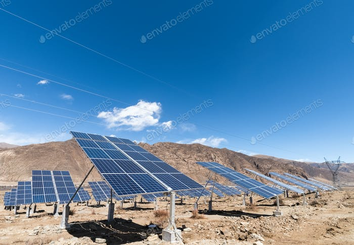 solar energy on plateau