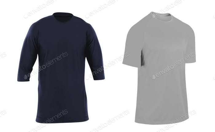 t-shirts isolated