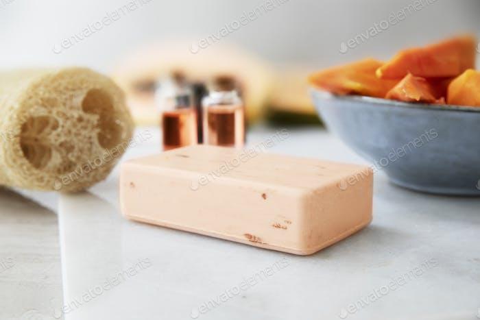 Papaya Extract Barof Soap
