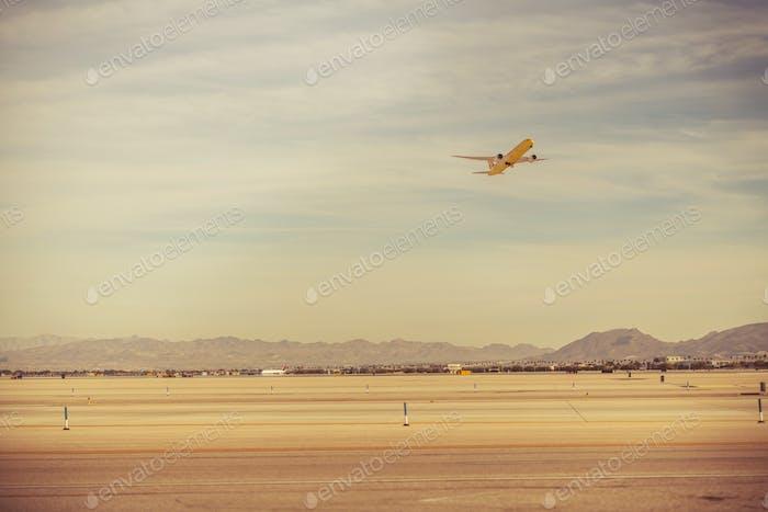 Las Vegas Airport Take Off