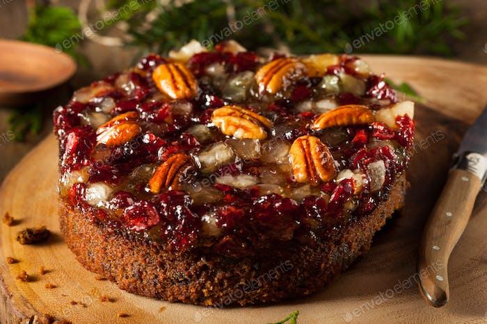 Festliche Feiertage Obstkuchen