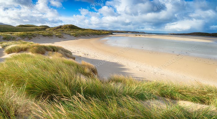 Uig Sands in Scotland