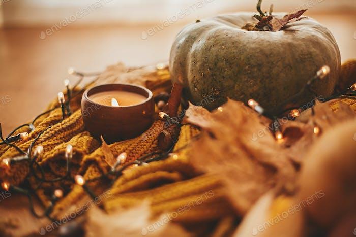 Gemütliches Herbstbild