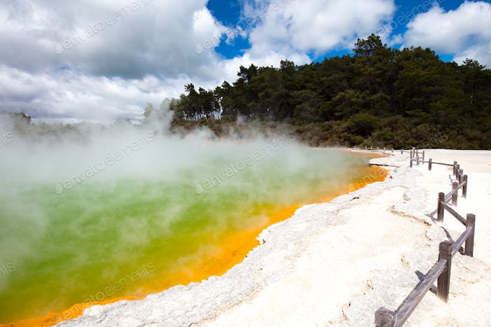 Wai-O-Tapu Geological feature