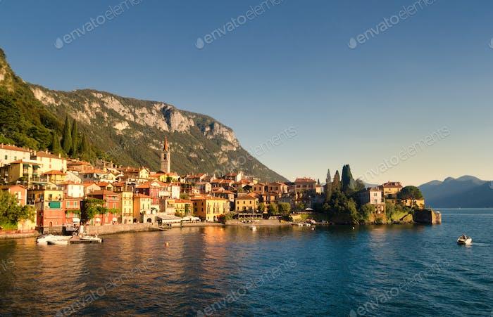 Varenna, on the shore of Lake Como, Italy