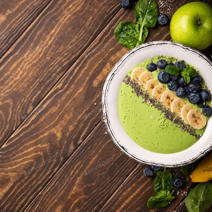 Frühstück Detox Green Smoothie