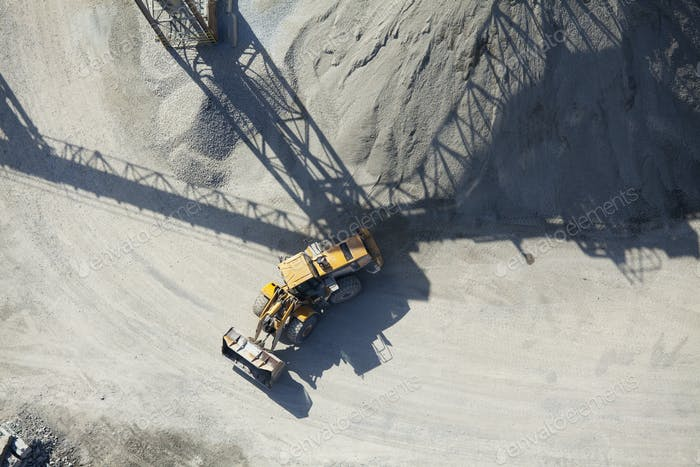 45626,Aerial View of an End Loader