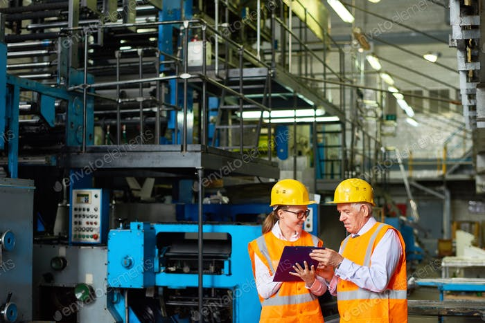 Safety Inspection at Factory