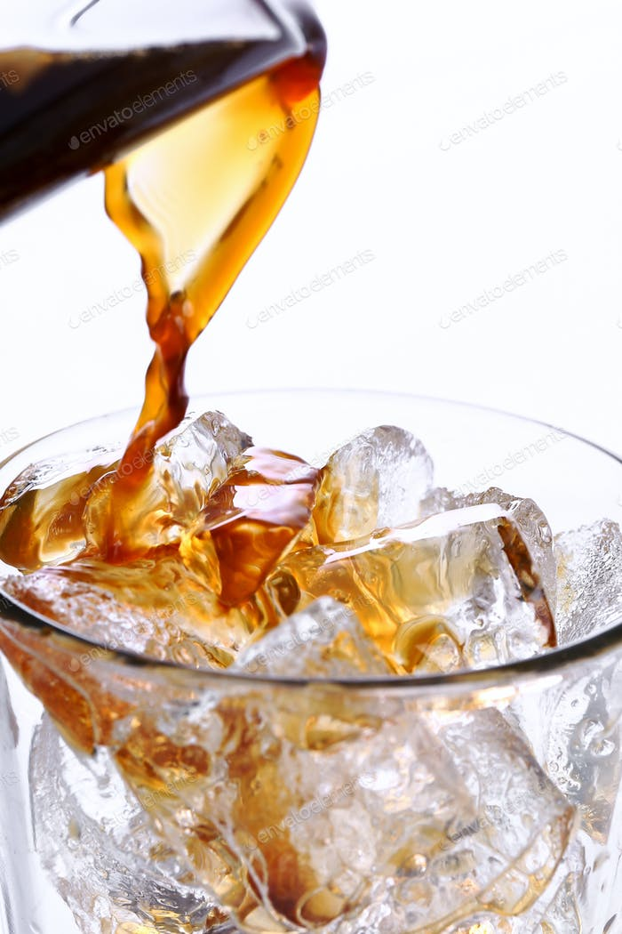 Coffee with ice