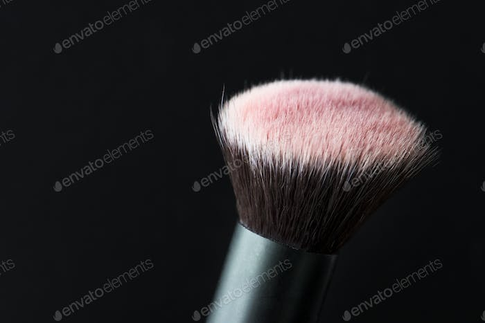 Closeup of cosmetic blush
