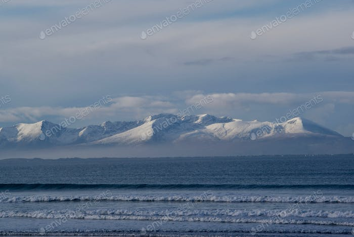 Snow Mountains Ocean