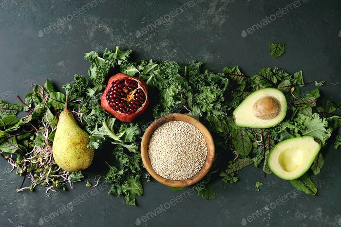 Mezcla de ensalada verde