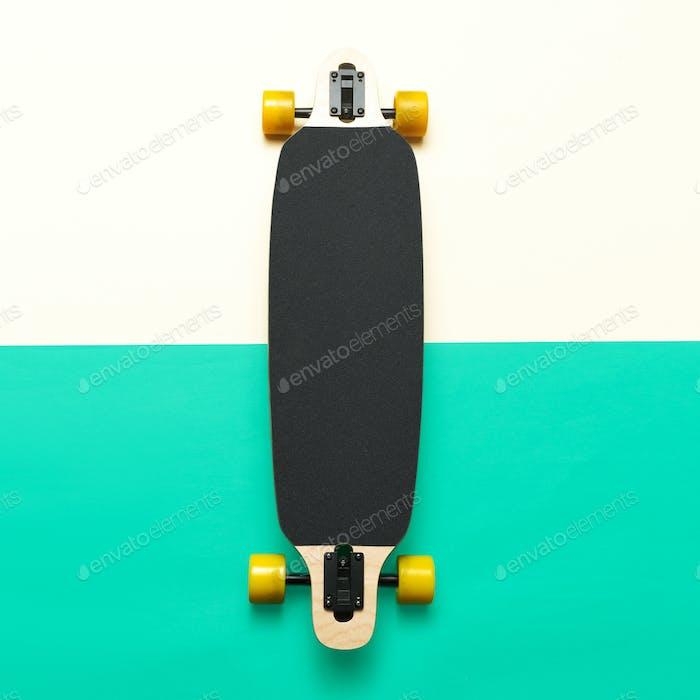 Skateboard, Love Urban fashion. minimal design