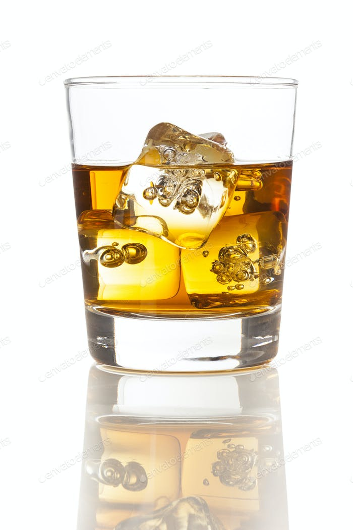 Thumbnail for Golden Brown Whisky on the rocks
