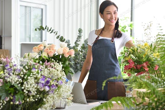 Geschäftsfrau, Unternehmer